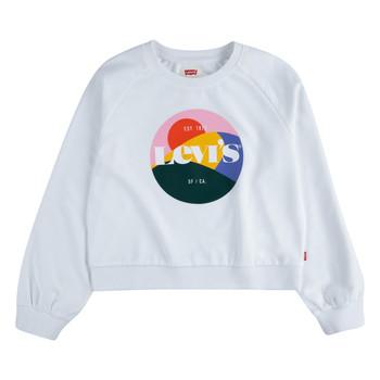 衣服 女孩 卫衣 Levi's 李维斯 3ED410-001 白色