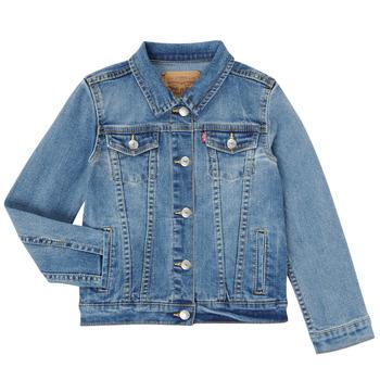 衣服 女孩 牛仔外套 Levi's 李维斯 3E4388-M0K 蓝色