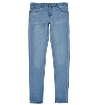衣服 女孩 牛仔铅笔裤 Levi's 李维斯 710 SUPER SKINNY 蓝色