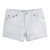 衣服 女孩 短裤&百慕大短裤 Levi's 李维斯 4E4536-001 白色
