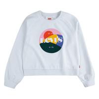 衣服 女孩 卫衣 Levi's 李维斯 4ED410-001 白色