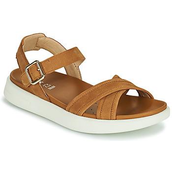 鞋子 女士 凉鞋 Geox 健乐士 D XAND 2S B 棕色