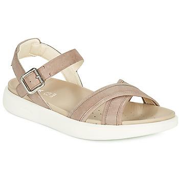 鞋子 女士 凉鞋 Geox 健乐士 D XAND 2S B 米色