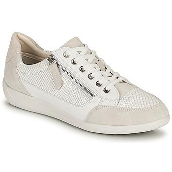 鞋子 女士 球鞋基本款 Geox 健乐士 D MYRIA A 白色