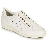 鞋子 女士 球鞋基本款 Geox 健乐士 D MYRIA H 白色 / 金色