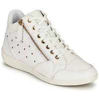 鞋子 女士 高帮鞋 Geox 健乐士 D MYRIA G 白色