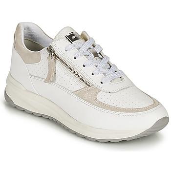 鞋子 女士 球鞋基本款 Geox 健乐士 D AIRELL A 白色 / 米色