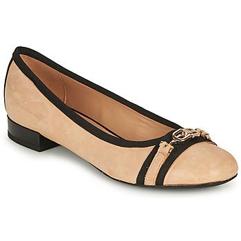 鞋子 女士 平底鞋 Geox 健乐士 D WISTREY D 米色 / 黑色