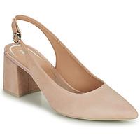 鞋子 女士 高跟鞋 Geox 健乐士 D BIGLIANA A 米色