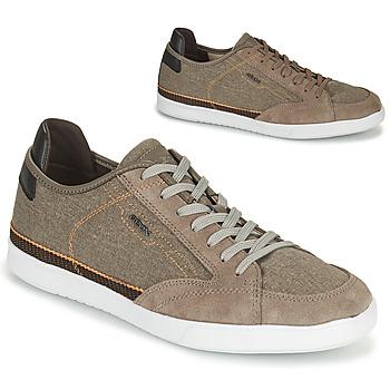 鞋子 男士 球鞋基本款 Geox 健乐士 U WALEE A 灰褐色