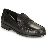鞋子 男士 皮便鞋 Geox 健乐士 U NEW DAMON B 黑色