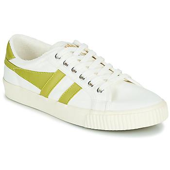 鞋子 女士 球鞋基本款 Gola TENNIS MARK COX 白色 / 黄色