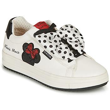 鞋子 女孩 球鞋基本款 Geox 健乐士 REBECCA GIRL 白色 / 黑色 / 红色