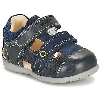 鞋子 男孩 凉鞋 Geox 健乐士 KAYTAN 海蓝色
