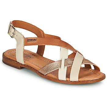 鞋子 女士 凉鞋 Pikolinos 派高雁 ALGAR W0X 白色 / 玫瑰色 / 金色