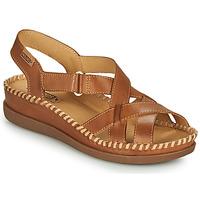 鞋子 女士 凉鞋 Pikolinos 派高雁 CADAQUES W8K 棕色