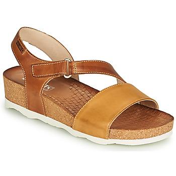 鞋子 女士 凉鞋 Pikolinos 派高雁 MAHON W9E 棕色