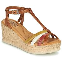 鞋子 女士 凉鞋 Pikolinos 派高雁 MIRANDA W2F 棕色