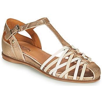 鞋子 女士 凉鞋 Pikolinos 派高雁 TALAVERA W3D 金色