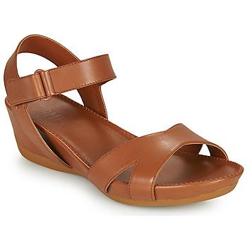 鞋子 女士 凉鞋 Camper 看步 MICRO 棕色