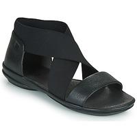 鞋子 女士 凉鞋 Camper 看步 RIGHT NINA 黑色