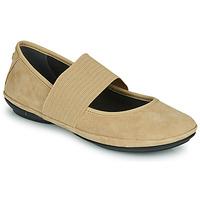 鞋子 女士 平底鞋 Camper 看步 RIGHT NINA 米色