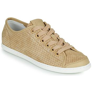 鞋子 女士 球鞋基本款 Camper 看步 UNO 米色