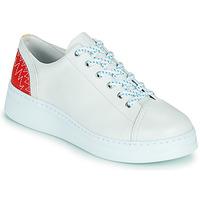 鞋子 女士 球鞋基本款 Camper 看步 RUNNER UP 白色 / 红色