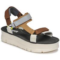 鞋子 女士 凉鞋 Camper 看步 ORUGA UP 棕色 / 灰色