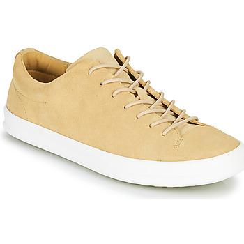 鞋子 男士 球鞋基本款 Camper 看步 CHASIS 米色