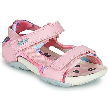 鞋子 女孩 凉鞋 Camper 看步 OUS 玫瑰色