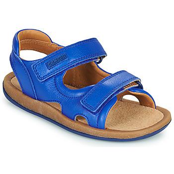 鞋子 男孩 凉鞋 Camper 看步 BICHO 蓝色