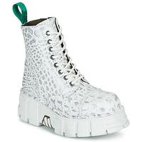 鞋子 短筒靴 New Rock M-MILI083C-V9 白色