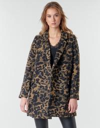 衣服 女士 夹克 Deeluxe LEA 棕色 / 黑色