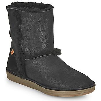 鞋子 女士 都市靴 El Naturalista LUX 黑色