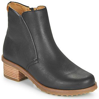鞋子 女士 短靴 El Naturalista SOFT 黑色