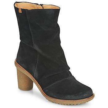 鞋子 女士 短靴 El Naturalista LUX 黑色