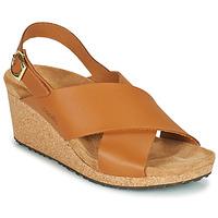 鞋子 女士 凉鞋 Papillio SAMIRA RING BUCKLE 棕色