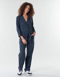 衣服 女士 连体衣/连体裤 G-Star Raw Workwear pj jumpsuit 34 slv wmn Mazarine / 蓝色