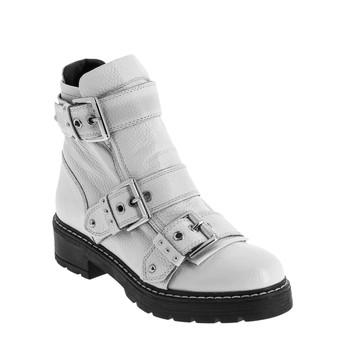 鞋子 女士 短筒靴 André DANDYBIKER 白色