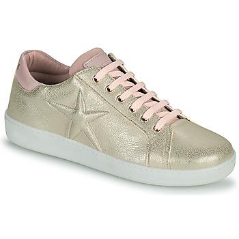 鞋子 女孩 球鞋基本款 Bisgaard TILDE 金色