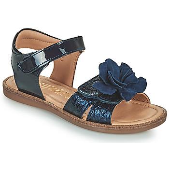 鞋子 女孩 凉鞋 Bisgaard AGNES 海蓝色
