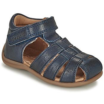 鞋子 儿童 凉鞋 Bisgaard CARLY 海蓝色