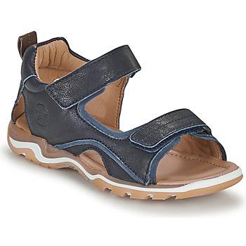鞋子 男孩 运动凉鞋 Bisgaard CASPAR 海蓝色