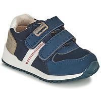鞋子 男孩 球鞋基本款 Bisgaard STEVIE 海蓝色