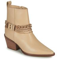 鞋子 女士 都市靴 Bronx JUKESON 米色