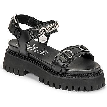 鞋子 女士 凉鞋 Bronx GROOVY SANDAL 黑色