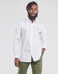 衣服 男士 长袖衬衫 Lacoste PITTA 白色