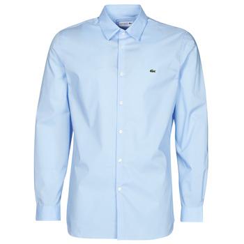 衣服 男士 长袖衬衫 Lacoste PITTA 蓝色