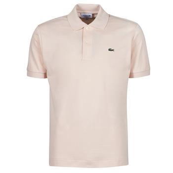 衣服 男士 短袖保罗衫 Lacoste POLO CLASSIQUE L.12.12 玫瑰色